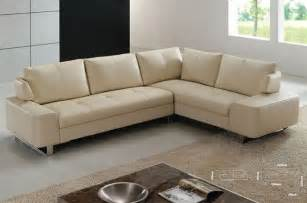 Contemporary Sectionals Exquisite Leather Corner Contemporary