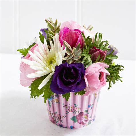 cupcake flower arrangements cupcake flower arrangement floral art ideas pinterest