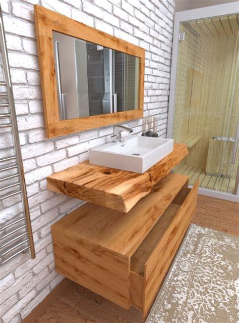 legno bagno top in legno per lavabo da appoggio l arredo bagno 2018