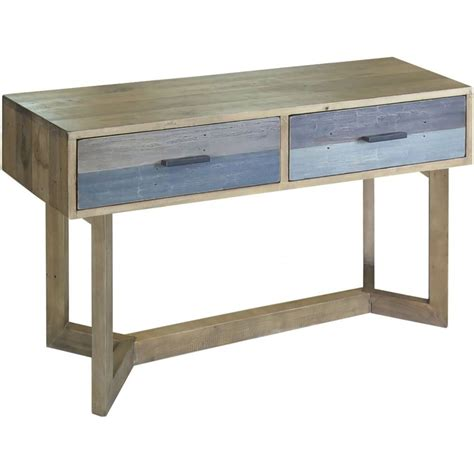 sorrento reclaimed small console table dining room