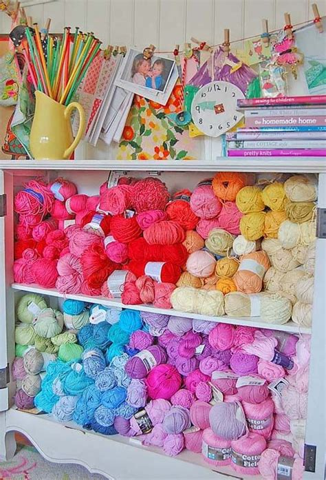 knitting room 113 best organizing ideas crafts images on