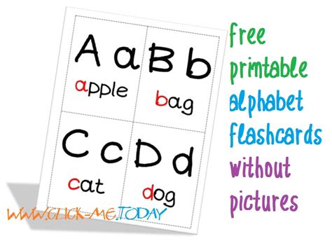 free printable alphabet flashcards without pictures free printable alphabet flashcards without pictures