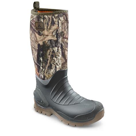 rubber boots kamik s elements bushman rubber boots 609574 rubber