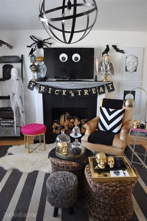 home decor for halloween best 25 halloween living room ideas on pinterest living