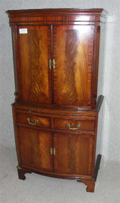 antiques atlas 1960s mahogany drinks cabinet