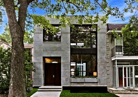 house montreal ecologia montreal single family residence aims to be the
