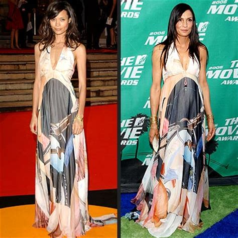 Thandie Newton And Famke Janssen In Stella Mccartney by Fashion Faceoff