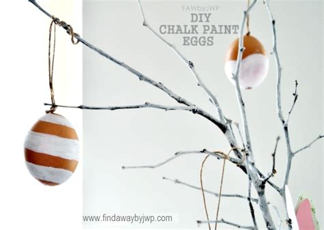 diy chalk paint thin diy crafts easter chalk paint eggs find a way by jwp