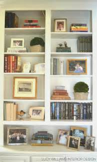 Living Room Bookshelves Williams Interior Design Before And After