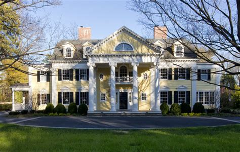 neoclassical home traditional exterior new york by knight architects llc