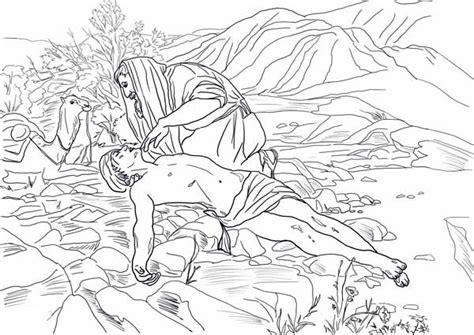 printable coloring pages of the samaritan printable samaritan coloring pages photo 371649