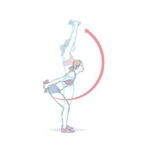 dumbbell skier swing 350 best images about exercise on pinterest planks