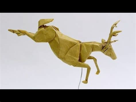 How To Make An Origami Deer - best 25 origami frog ideas on easy origami