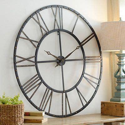 addison open face clock clock wall decor wall clocks