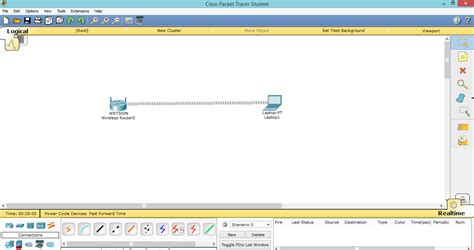 membuat jaringan wifi di packet tracer konfigurasi access point di cisco packet tracer catatan
