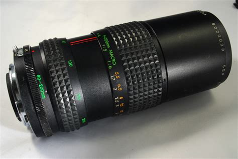 makinon 80 200mm f4 5 lens for nikon ai manual focus fg fm fg20 ebay