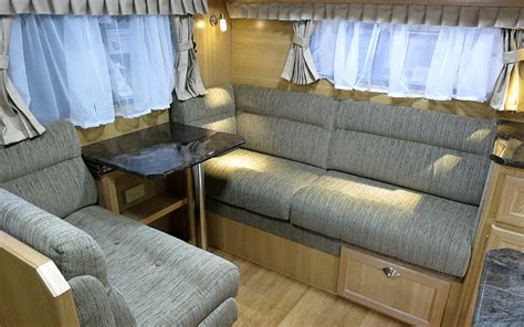 Motorhome Upholstery Fabric by Rv Upholstery Brings New Caravans Back To With