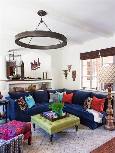 best navy blue sofa design ideas remodel pictures houzz