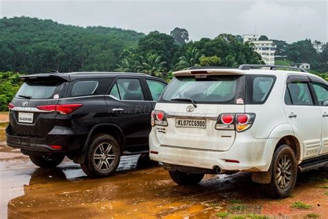 New Car Toyota Fortuner New Toyota Fortuner Vs Toyota Fortuner In Images