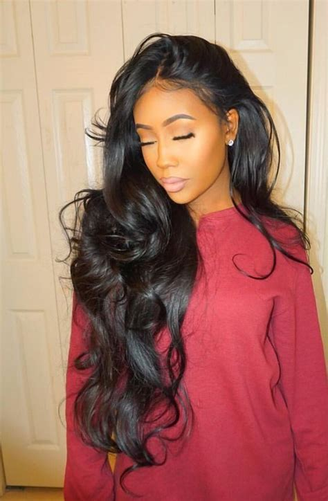 black hair magaizine pic of brazilian hair weave styles 35 stunning sew in hairstyles brazilian body wave body