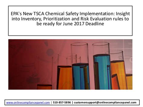 epa s epa s new tsca chemical safety implementation