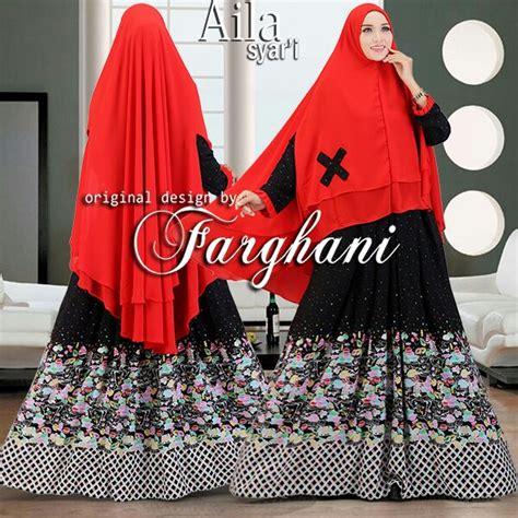 6 By Farghani murah n ori collection aila syar i 5 by farghani
