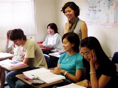 esl students southern california english language school aoi college