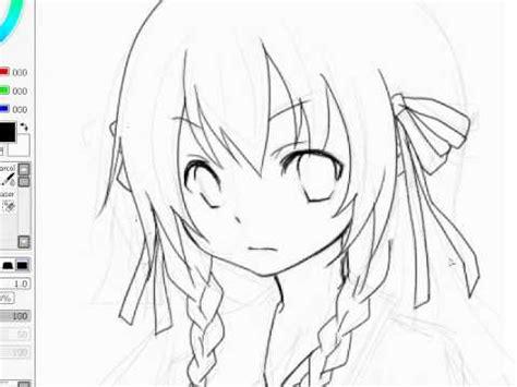 paint tool sai drawing anime lineart anime drawing sai paint tool kaneko eiza