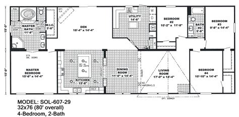 2 bedroom bath mobile home floor plans ideas house awesome