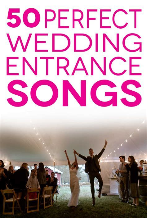 Wedding Entrance Songs To Get The Party Started   A