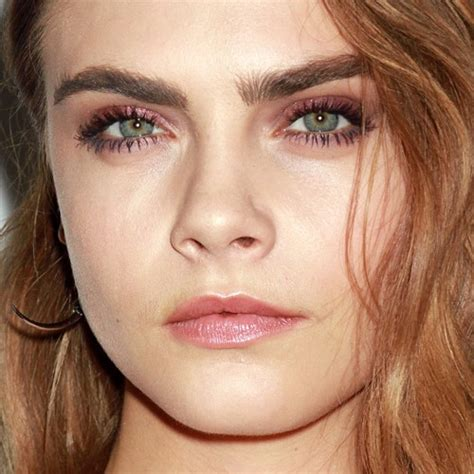 cara delevingne pink lipstick cara delevingne makeup pink eyeshadow pink lip gloss