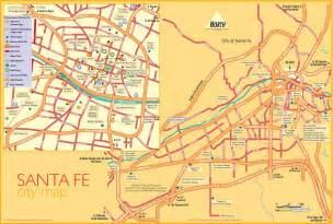 Bed And Breakfast Santa Fe Nm Large Santa Fe Maps For Free Download And Print High