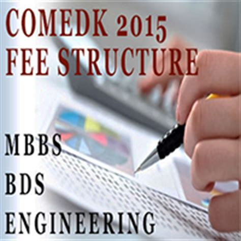 Mbbs Mba Scope by Comedk 2015 Fee Structure For Engineering Mbbs Bds
