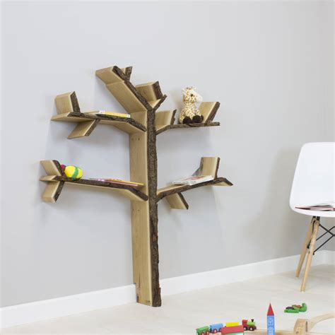 handmade children s tree book shelf mini oak tree by