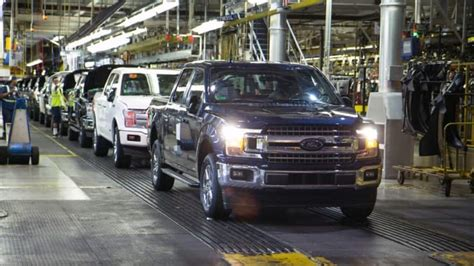 2019 Ford Production Schedule by Ford Restarting F 150 Duty Production Ahead Of