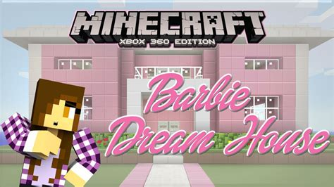 how to make a dream house minecraft xbox barbie dream house princess bed 1