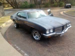 72 Pontiac Tempest Pontiac Le Mans Questions I Just Bought A 72 Lemans