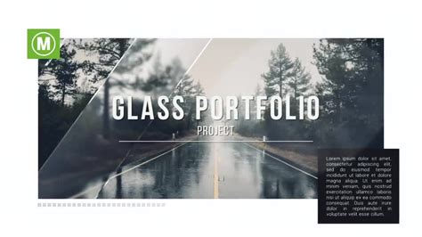 template after effects portfolio glass portfolio after effects templates motion array