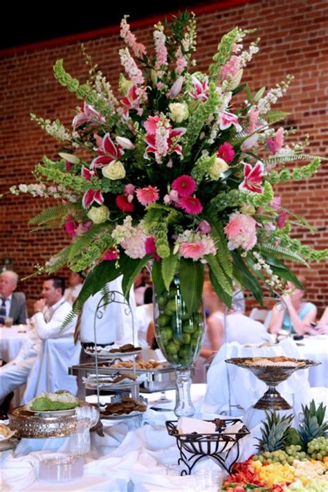 Home Decor With Flowers by Receptions And Centerpiece Flower Arrangements Image Gallery