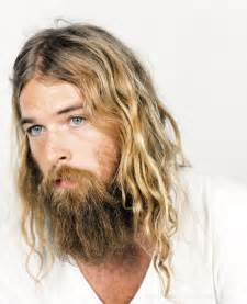 mens hippie hairstyles mens hairstyle hippie chic shaggy beard long hair men