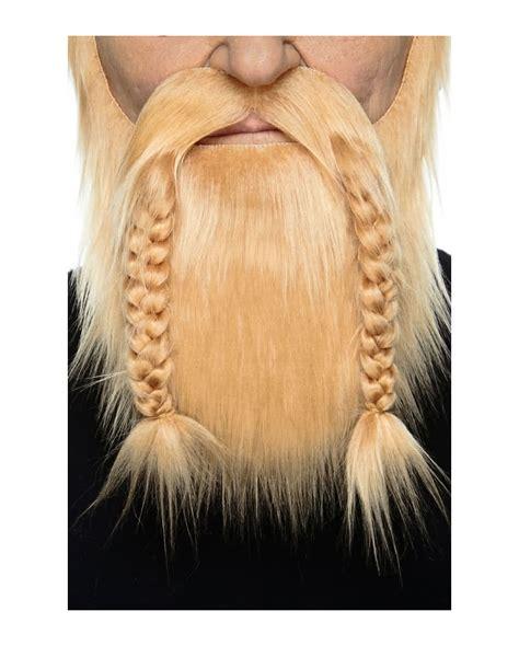 viking braided sideburns vikings beard strawberry blonde realistically beard made