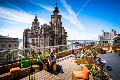 top bars liverpool the best rooftop bars beer gardens in liverpool utility
