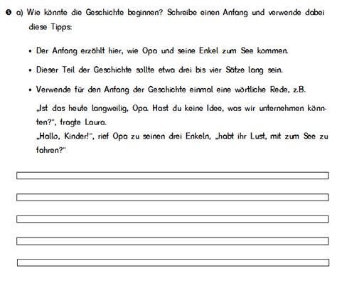 Muster Briefe Schreiben 3 Klasse Eine Geschichte Schreiben 3 Klasse