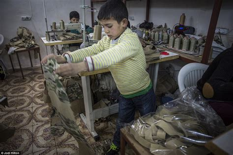 ISIS uniforms prepared in Turkish sweatshop full of Syrian
