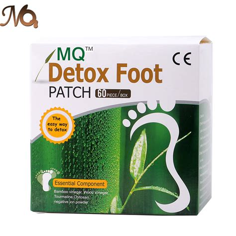 Chikusaku Bamboo Vinegar Foot Detox Patch by 120pcs 60pcs Patches 60 Pcs Adhesives Mq Detox Foot Patch
