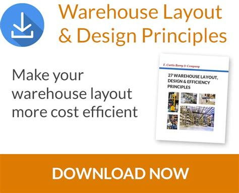 warehouse layout and design principles warehouse layout and design