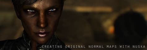 blender how to make your character talk lip sync in creating normal maps for your own skyrim character mods