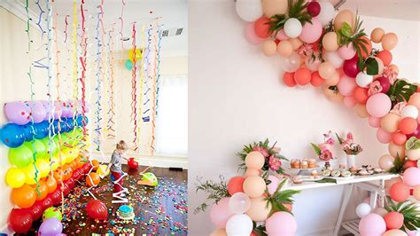 how to decorate a room how to decorate room for birthday decor snacks