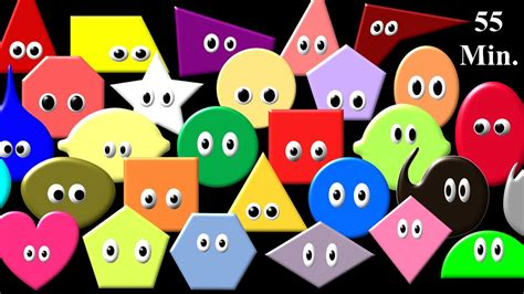 shapes and colors song shapes colors collection shape song more the