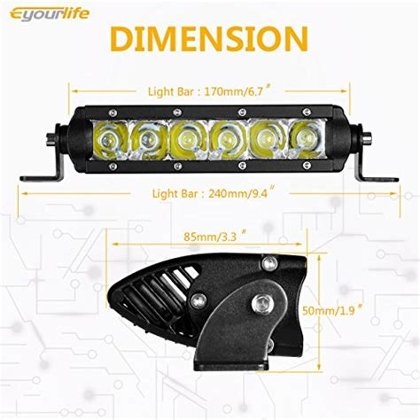 light bar installation cost cree led light bar eyourlife single row 30w cree led